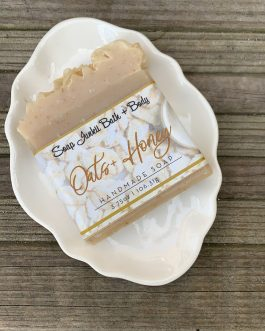 Oats + Honey Soap