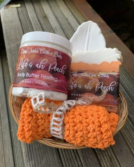 Life's ah Peach Golden Gift Set