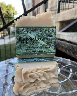 Fresh Greens + Eucalyptus Soap