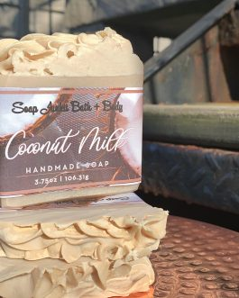 Creamy Coconut Milk Soap