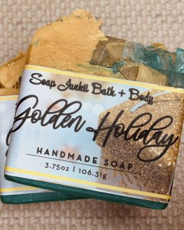 LIMITED EDITION Golden Holiday Soap
