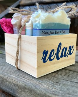 Relaxation in a BOX soap bundle deal